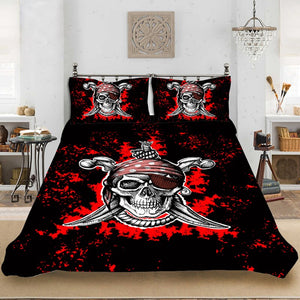 Yi chu xin sugar skull bedding set king size duvet cover