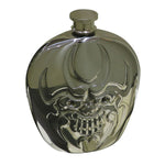 Stainless Steel  6oz  Skull Hip Flask  304 Stainless Steel Alcohol