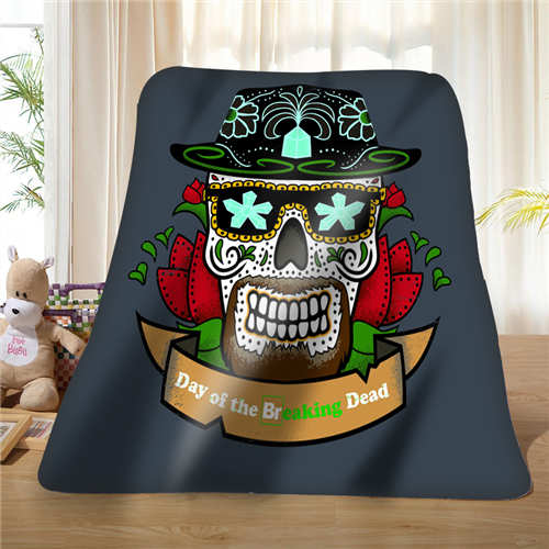 Custom  Cool Pirate And Skull (1) Blanket Soft Fleece DIY Your Picture Decoration