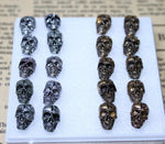 Promotion Wholesale 10Pairs Set Korean Vintage Skull