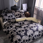 3D Sugar Skull Printed Bedding Sets Single Double Queen King