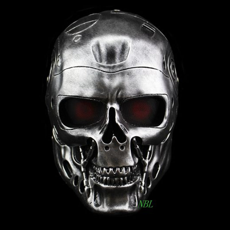Halloween COS Terminator Helmet Masks Horror CS Paintball Ghost Creepy