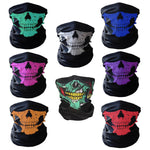 Halloween Mask Festival Skull Masks Skeleton Outdoor Motorcycle Bicycle