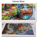 Handmade needlework diy diamond painting kit diamond embroidery full rhinestone cross stitch diamond Mosaic Sugar skull