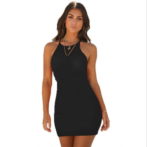 Dresses Women Sexy Bodycon Glazed Skull