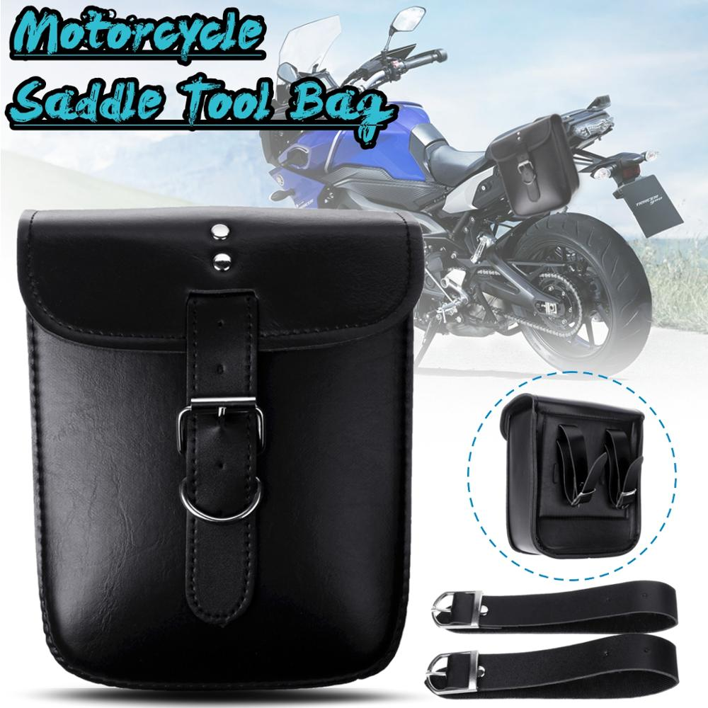For Softail/Dyna 1 Set Black Waterproof Racing Motorcycle Tool Bag