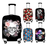 Sugar Skull Dust-proof Luggage Cover Suitcase Protective Bag Case