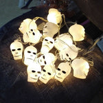 LED Skeleton Lantern Skull String Light for Halloween Party Bar Christmas Decor Haunted House Scary Prop