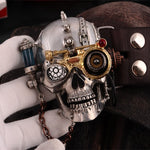 Steam Punk Style Belt Tin Alloy Belt Buckle Gothic Skull Style Buckle