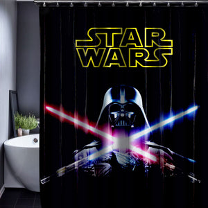 Skull Customized Shower Curtain Bathroom Waterproof Bathroom Fabric 150x180cm Shower Curtain