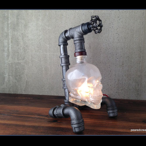 Skull Table lamp Retro Industrial style Creative Bar Wall Sconce Modern