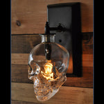 Skull wall lamps Retro Industrial style Creative Bar Wall Sconce Modern Wall Lamps
