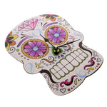 Sugar Skull Wall Clock Day of the Dead