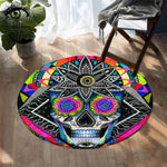 Sugar Skull by Pixie Cold Art Area Rugs