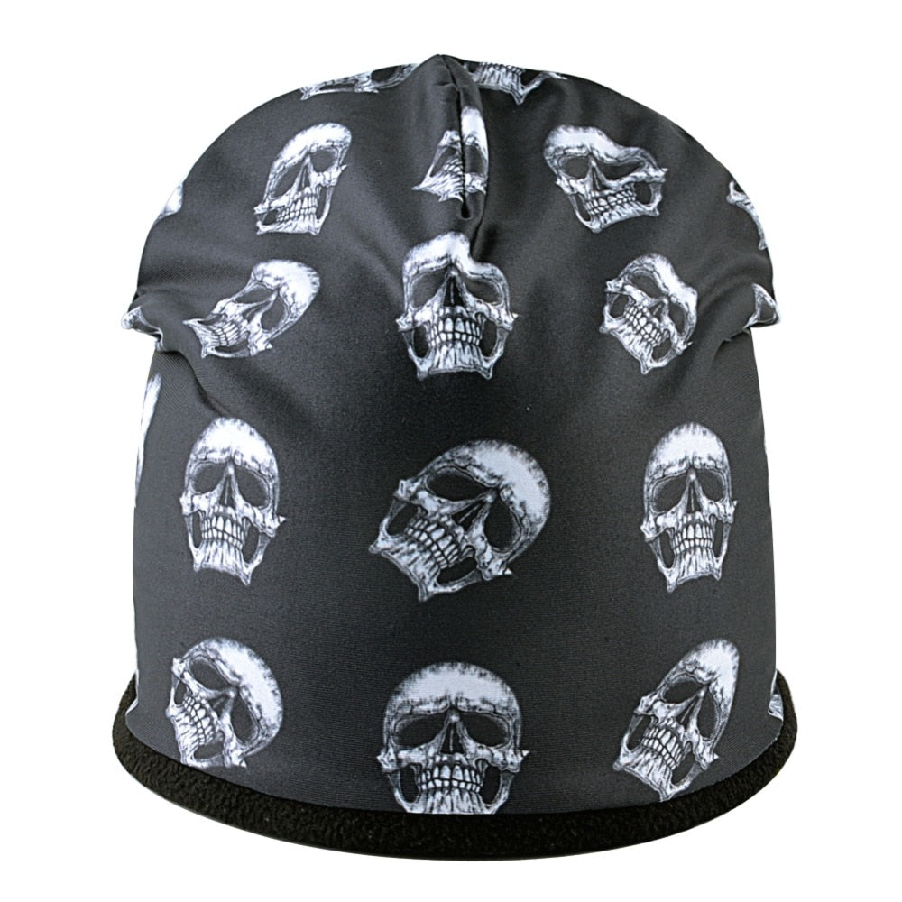 Skull Hats Winter Warm Skullies Beanies
