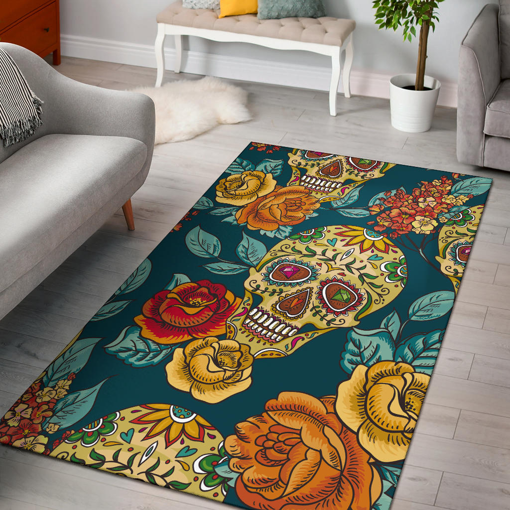 Sugar skull rugs - 3 sizes