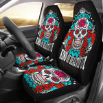 Beautiful Sugar skull car seat cover
