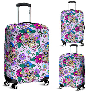 Sugar skull Luggage covers