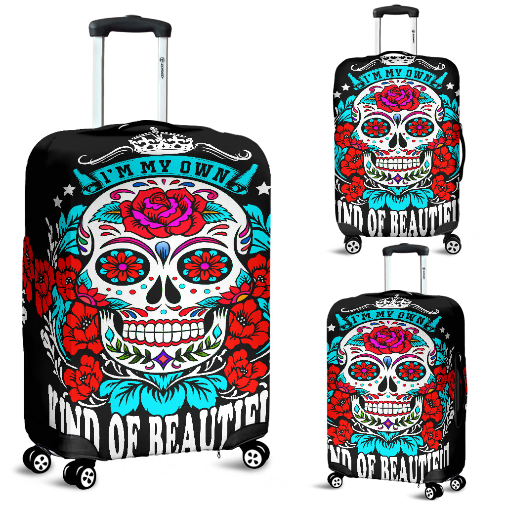 I'm my own kind of beautiful - Suitcase cover