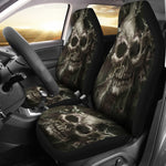 Set 2 Skull seat covers