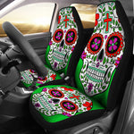 Sugar Skull Car Seat cover