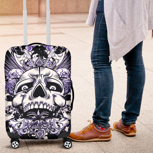 Luggage Covers - Suitcase cover - Awesome Skulls