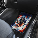 Set of 4 pcs grim reaper Halloween car mats
