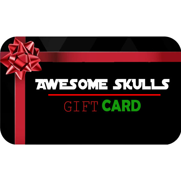 Awesome Skulls Gift Card