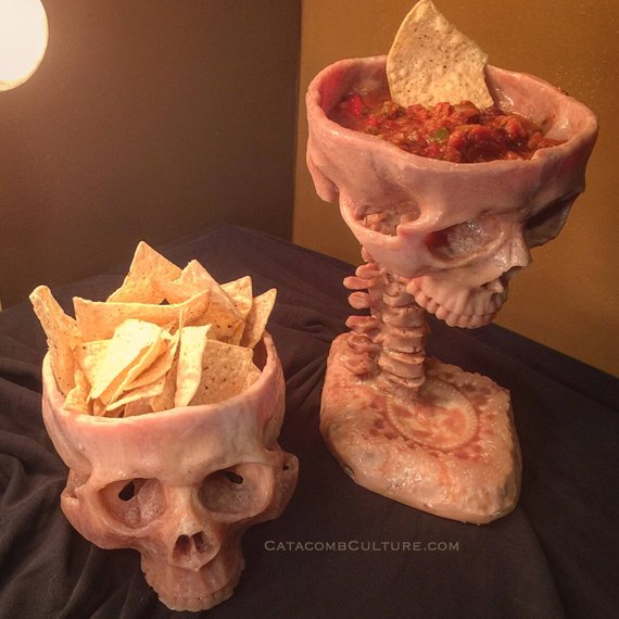 Human Skull Bowl (Food Safe)Human Skull Bowl (Food Safe)