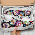 Sugar Skull Custom Sneakers, custom sneaker, custom sneaker man, skull shoes