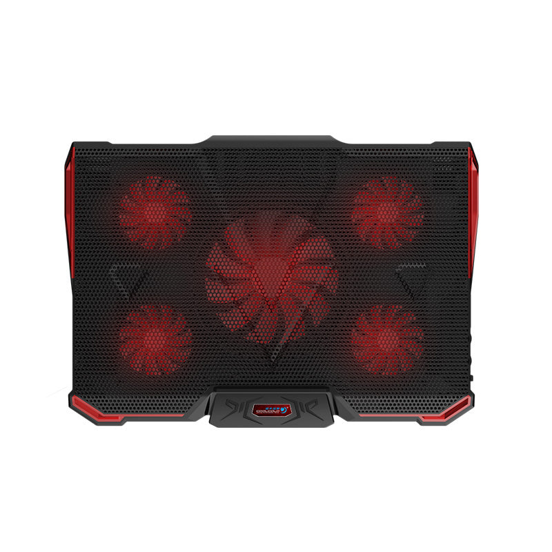 "Laptop cooler cooling pad with Silence 5pcs LED Fans USB 2.0 Adjustable Notebook Holder for macbook air/pro 12""13""14""15.6""17.3"""