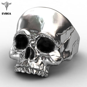 Stainless Steel Unique Punk Men Cool Jewelry Vintage Streampunk Jewelry Motorcycle Ring