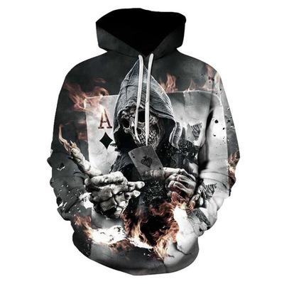 Hoodies Sweatshirts Men Women 3D Pullover Funny Rock Tracksuits Hooded Male Jackets Fashion
