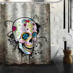 Hot selling skull Custom Shower Curtain Bath Curtain Waterproof