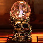 Novelty Lamp New Light-emitting Tatic Plasma Touch Table Lights Luminaria