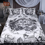 BeddingOutlet Skull Bedding Set King Top Rated Boys Duvet Cover 3 Pieces...