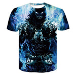3D T Shirt Men Fitness Compression Shirts Tops Male Print Superhero Superman