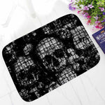 Punk Skull Printed Corridor Mats Hallway Carpet Anti-slip Outdoor Rugs Front Door Mats