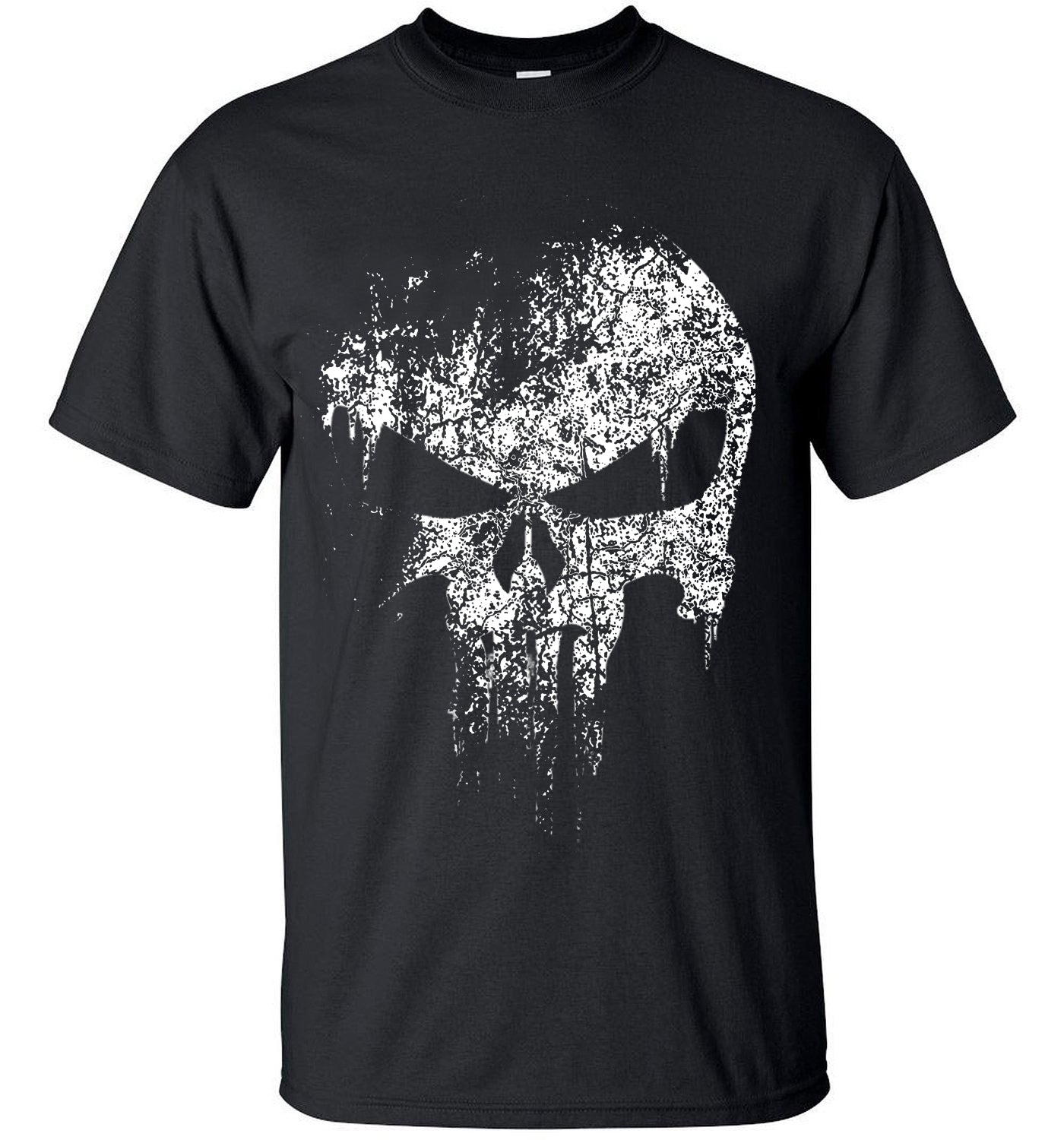 Skull hip hop Supper Hero t shirts Men T-Shirt tops tees top brand slim clothing mma pp crossfit