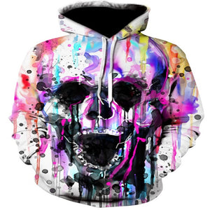Hoodies Sweatshirts 3D Printed Funny Hip HOP Hoodies Novelty Streetwear