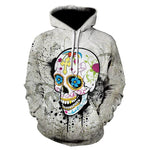 3D Digital printing Funny Hip HOP Hoodies Novelty Hooded Sweatshirts Tracksuits