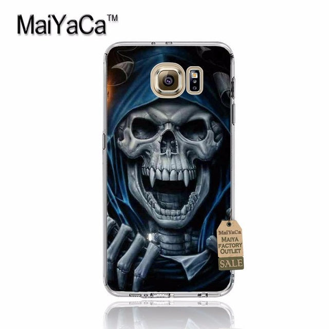 Grim Reaper Skull Skeleton Top Detailed Popular Phone case for samsung galaxy