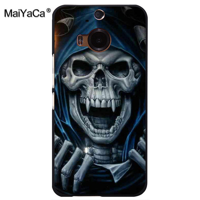 Grim Reaper Skull Skeleton Ultra Pattern Hard Back Phone Case