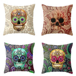 Pillowcase Square Car Covers Invisible Zipper Home Decor Sofa Throw Pillow Cover