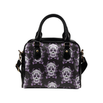Day of the Dead Mexico Sugar Skull Shoulder Handbag Purse for Women And Girls