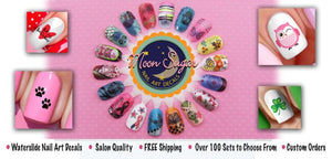 Sugar Skull Nail Art Waterslide Decals Set #3 - Halloween & Day of the Dead!