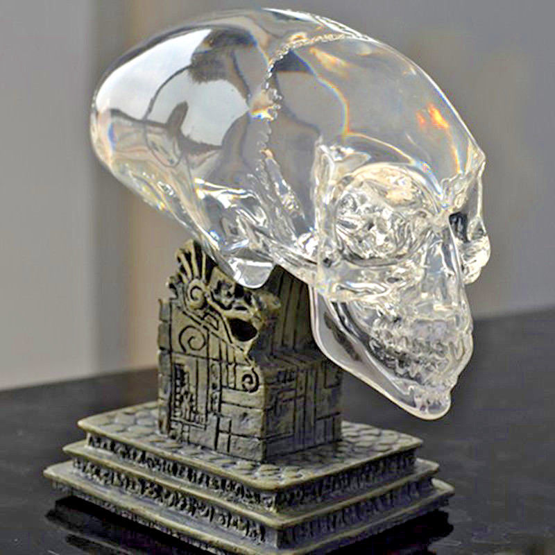 Beautiful Resin Skull Model Halloween Car Decoration Gift