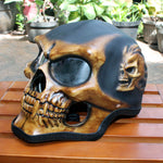 Motorcycle Helmet Skull Skeleton Full face for YOUTH