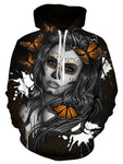 Sugar Girl Skull 3D Print Women Men Hoodie Sweatshirt Jumper Pullover Jacket Top