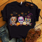 Sugar skull Halloween shirt